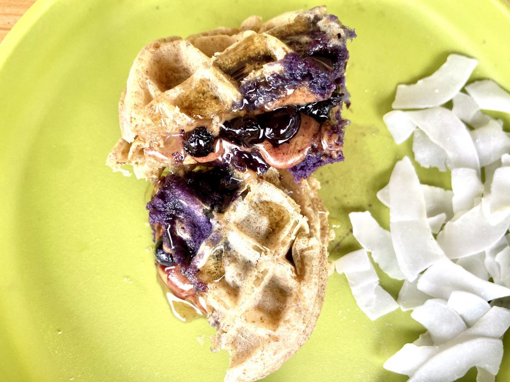 Waffle Sandwich Toddler Food Ideas - Twin Mom Refreshed